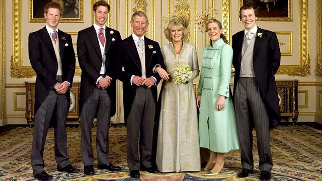 BBC - History - Prince Charles and Camilla Parker Bowles' wedding ...