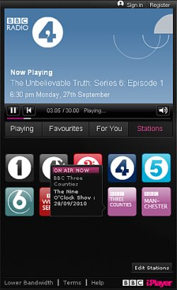 BBC - BBC Internet Blog: BBC iPlayer Pop-Out Radio Console