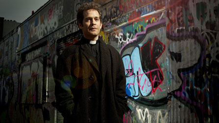 Tom Hollander as Rev Adam Smallbone