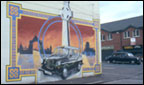 Mural for murdered taxi drivers