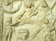 Mithras sacrificing the bull