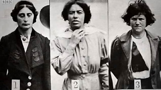 What was protest and imprisonment like for Suffragettes?