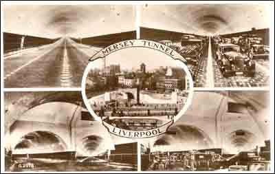 Tunnel postcard