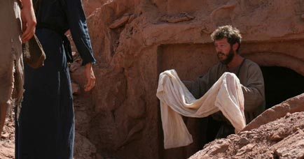 Peter Empty Peter at The Empty Tomb Holds