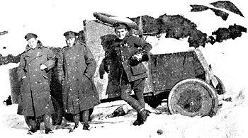 A Ford Armoured  Car in  Russia