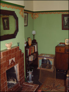 1940 homes interior features 1940s house 10010