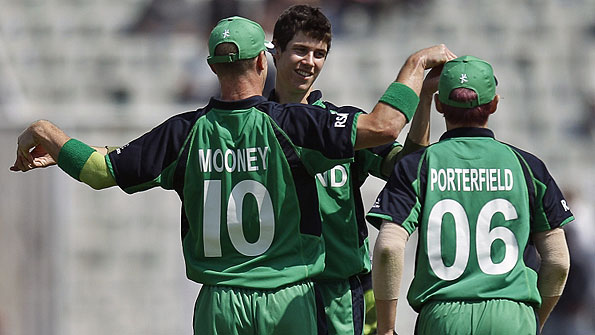 Ireland's teenage spinner George Dockrell