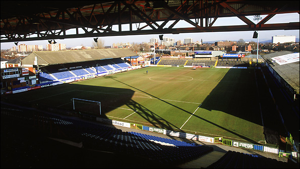 Edgeley Park - the home of Stockport County.