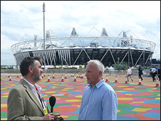 Green games - One Planet at the Olympic stadium