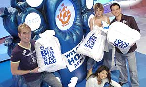 The Blue Peter team get behind the Welcome Home Appeal