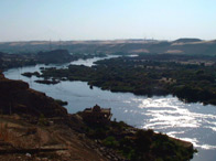 Photo of the river Nile
