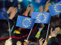 European Union flags (Getty Images)