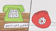 Call 1: I called Mr Lopez