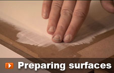 Watch preparing surfaces