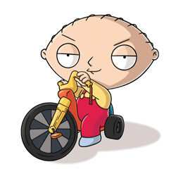 Stewie Griffin in Family Guy