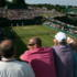 Viewing court 18 from the roof garden