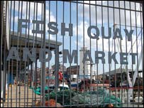 North Shields Fish Quay and market