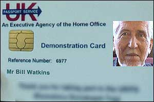 Bill from Derbyshire can't understand the fuss about ID cards...