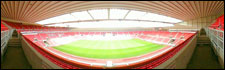 Stadium of Light - the view from the directors box