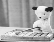 Sooty the puppet