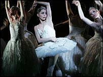 Tamara Rojo as Odette, pic by Johan Persson