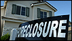 A foreclosure sign in front of a home for sale in Stockton, California (2008)
