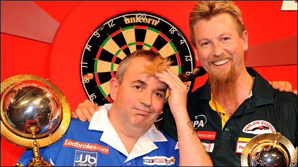 Phil Taylor and Simon Whitlock