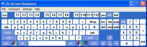 Enhanced keyboard with Regular layout