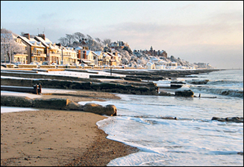 Felixstowe in Winter