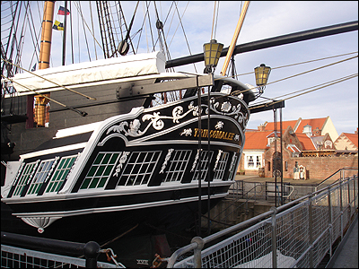 BBC - Tees - History - HMS Trincomalee Gallery
