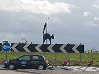 A Black Cat Roundabout Bypass