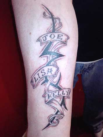Show us your Tattoos! tattoo. Rich's family tatttoo