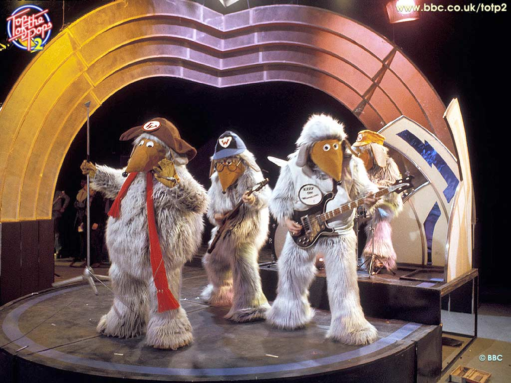 Image result for Wombles top of the pops