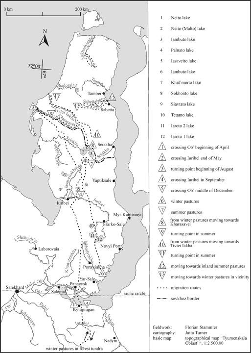 map of arctic circle. above the Arctic Circle.