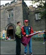 Early Ant and Dec in Byker Grove