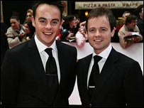 Ant and Dec in 2007