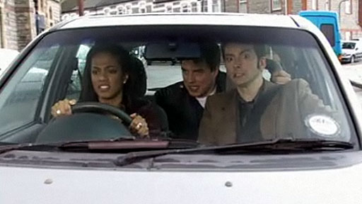 Martha Driving