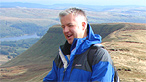 Derek Brockway on Pen y Fan