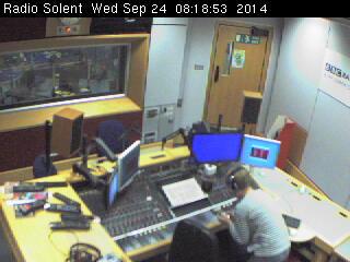 BBC Radio Solent studio 1B