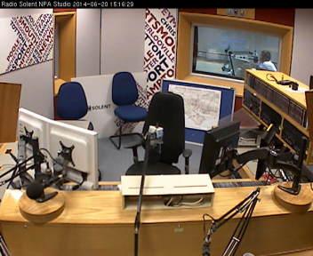 BBC Radio Solent studio 1C
