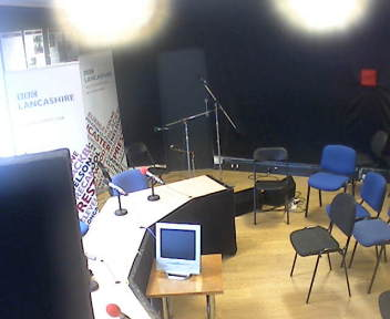 BBC Radio Lancashire Radio Theatre Webcam