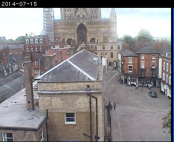 Live Lincoln Cathedral Webcam