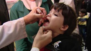 Vacunación contra la polio
