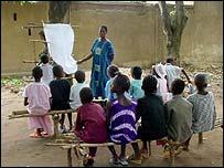 Crianças em aula