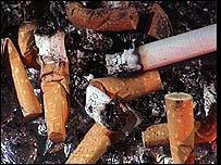 Antismoking law goes up in smoke