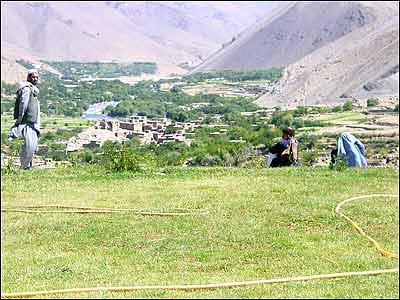 روستائی در پنجشیر