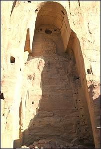 بوداهای باميان (عکس از پاينده محمد)