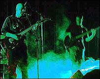 گروه موسيقی اوهام از جمله گروه های موسيقی راک ايرانی است که برای کسب مجور انتشار آثارشان با مشکل مواجه بوده اند