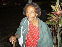 Romilzo, morador de rua
