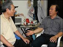 Ông Hoàng Tiến và ông Nguyễn Khắc Toàn